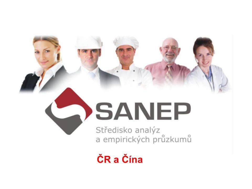 TÉMA PRŮZKUMU: ČR a Čína REALIZÁTOR: SANEP s.r.o.