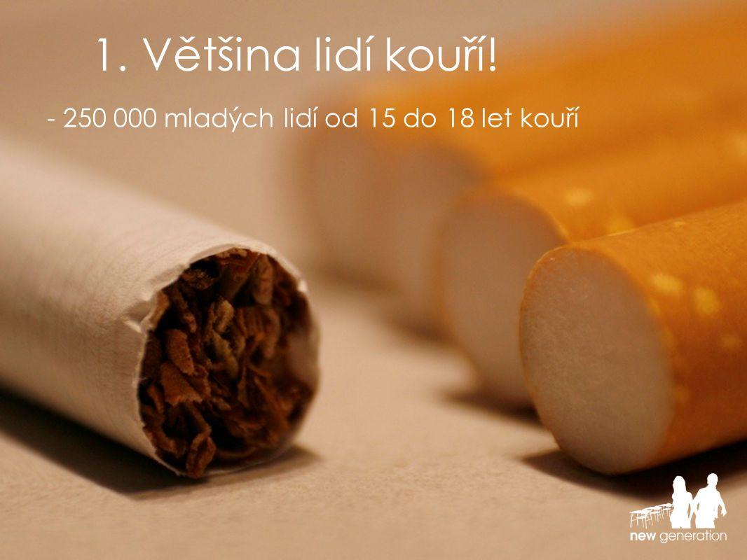 - Smoking spoils your looks!
