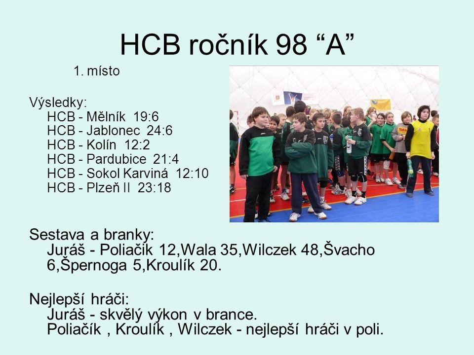 HCB ročník 98 A 1.