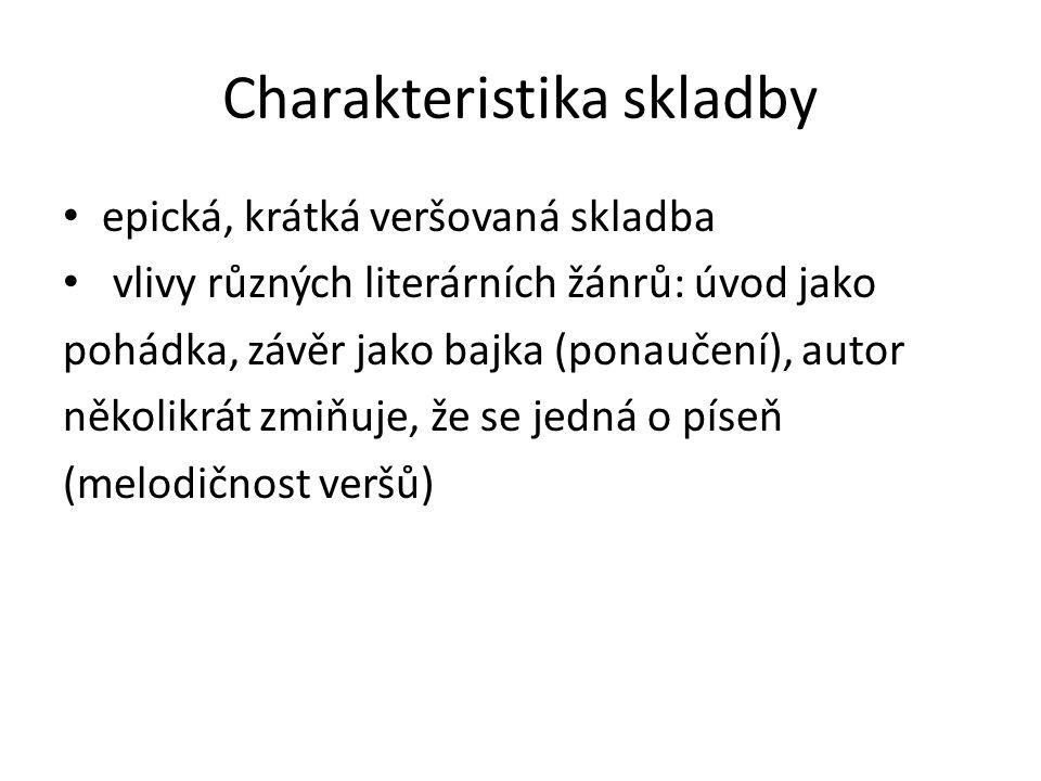 Dílo satirické skladby: Křest sv.