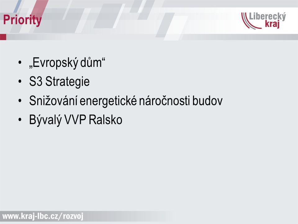 "Priority ""Evropský dům"" S3 Strategie Snižování energetické náročnosti budov Bývalý VVP Ralsko"