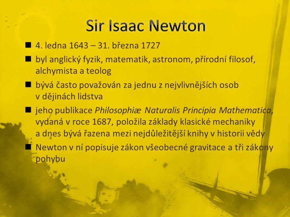 4. ledna 1643 – 31.