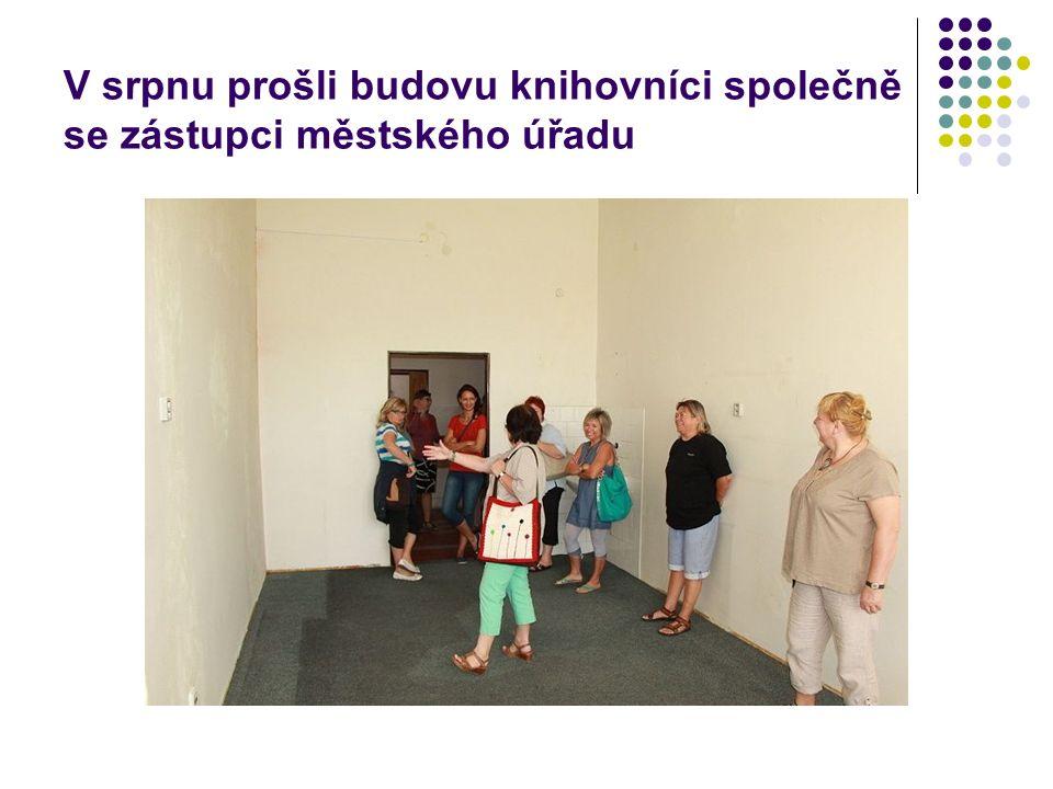 Dny otevřených dveří Masarykovy školy před rekonstrukcí na knihovnu, vzdělávací a komunitní centrum 8.10.