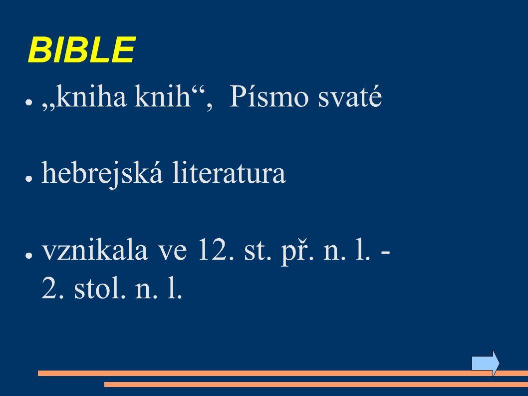 5) úkol - orientace v bibli: Zjisti, co znamenají zkratky: Iz 9, 5 Lk 2, 11 Řešení na další stránce.