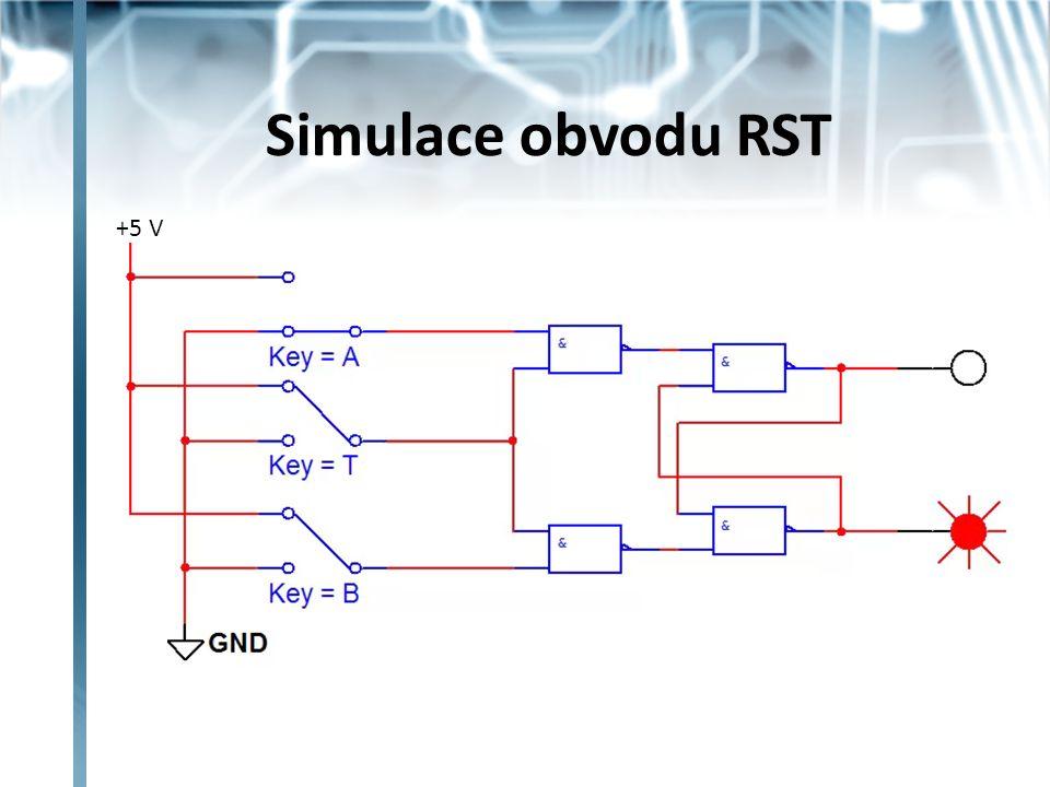 Klopný obvod D spojením vstupů S a R přes invertor vznikne jediný datový vstup D obvod nemá nedovolený stav – vstupy jsou vždy opačné