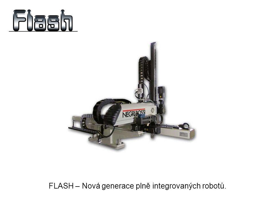 FLASH – Nová generace plně integrovaných robotů.