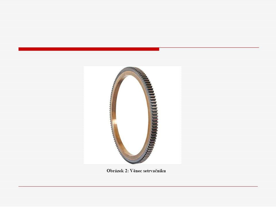 Materiál a výroba setrvačníku  litina  ocelolitina Setrvačník se vyrábí nejčastěji odléváním, po odlití je obráběn soustružením.