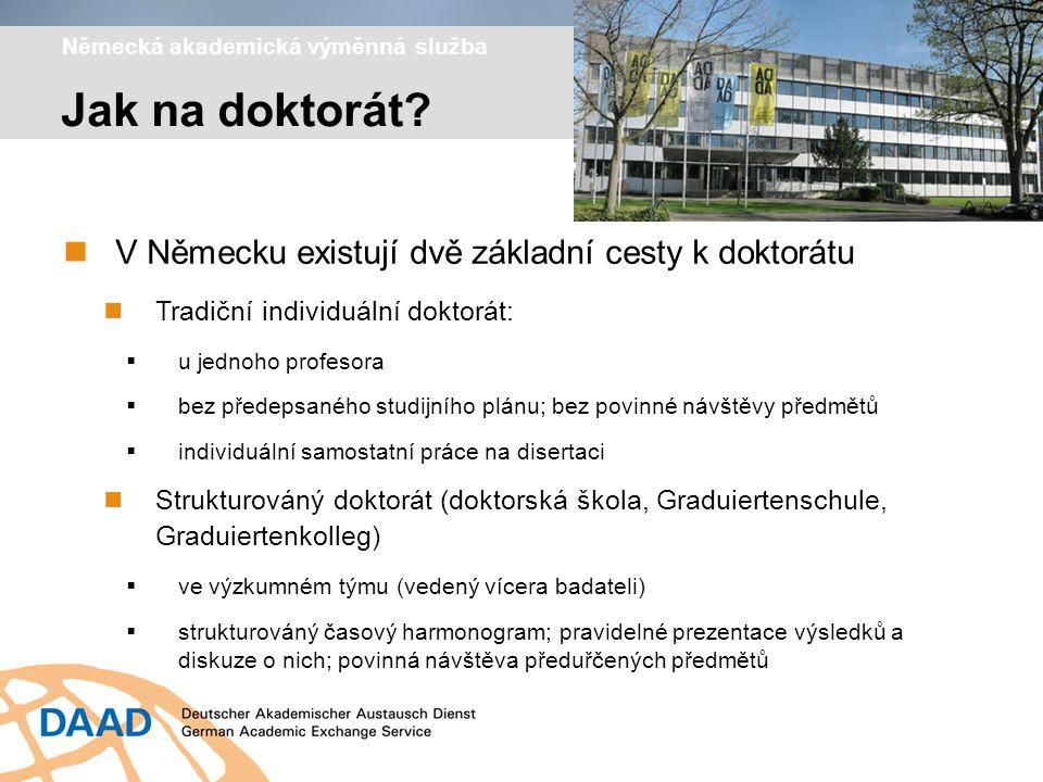 Výzkumná stipendia pro doktorandy a mladé vědce Jak se ucházet o stipendium.