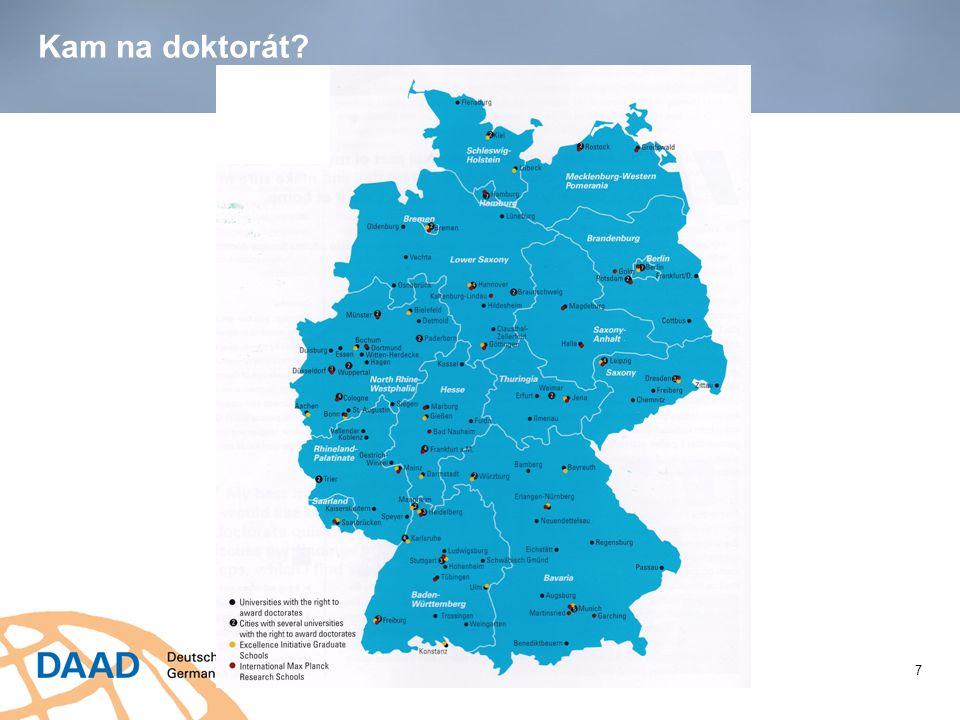 Jak financovat doktorské studium v Německu.Kolik stojí doktorské studium.
