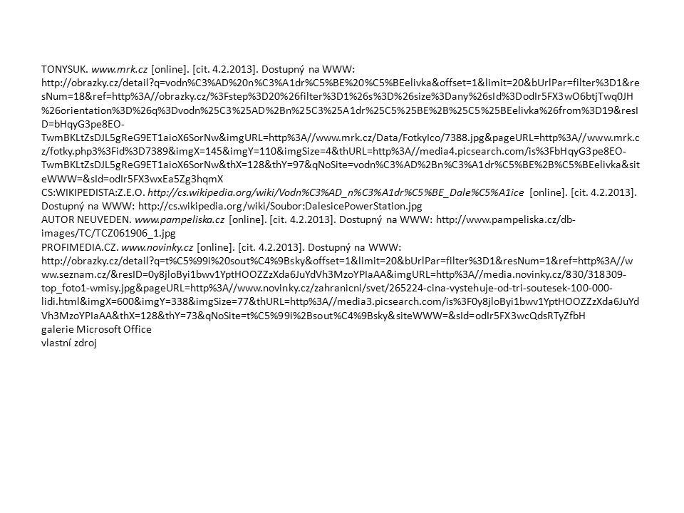 TONYSUK. www.mrk.cz [online]. [cit. 4.2.2013]. Dostupný na WWW: http://obrazky.cz/detail?q=vodn%C3%AD%20n%C3%A1dr%C5%BE%20%C5%BEelivka&offset=1&limit=