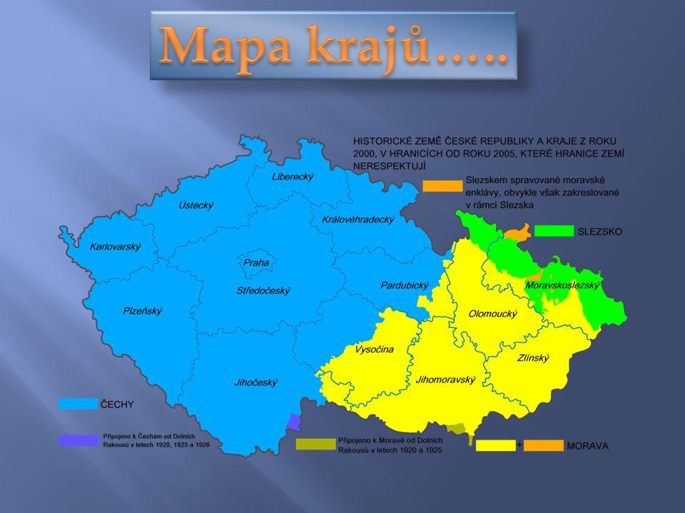 Nej větší město: Praha - přibližně 1, 24 mil.obyv.