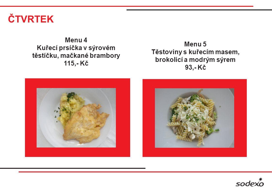 ČTVRTEK Menu 6 Vepřová jatýrka na roštu, americké brambory, tatarská, omáčka 99,- Kč