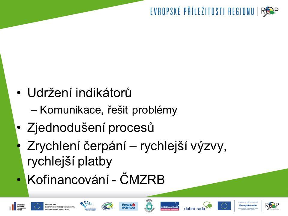 Kritéria pro schvalování projektů Transparentní Férová Zodpovědný veřejný investor –Komisiální hodnocení –Technokratické hodnocení