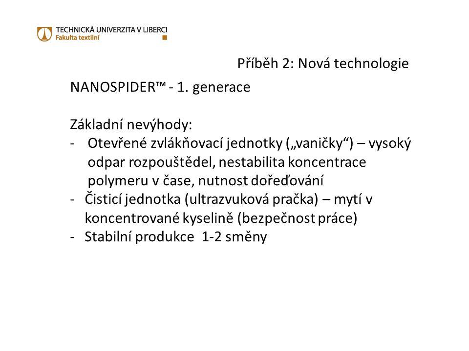 Příběh 2: Nová technologie NANOSPIDER™ - 1.