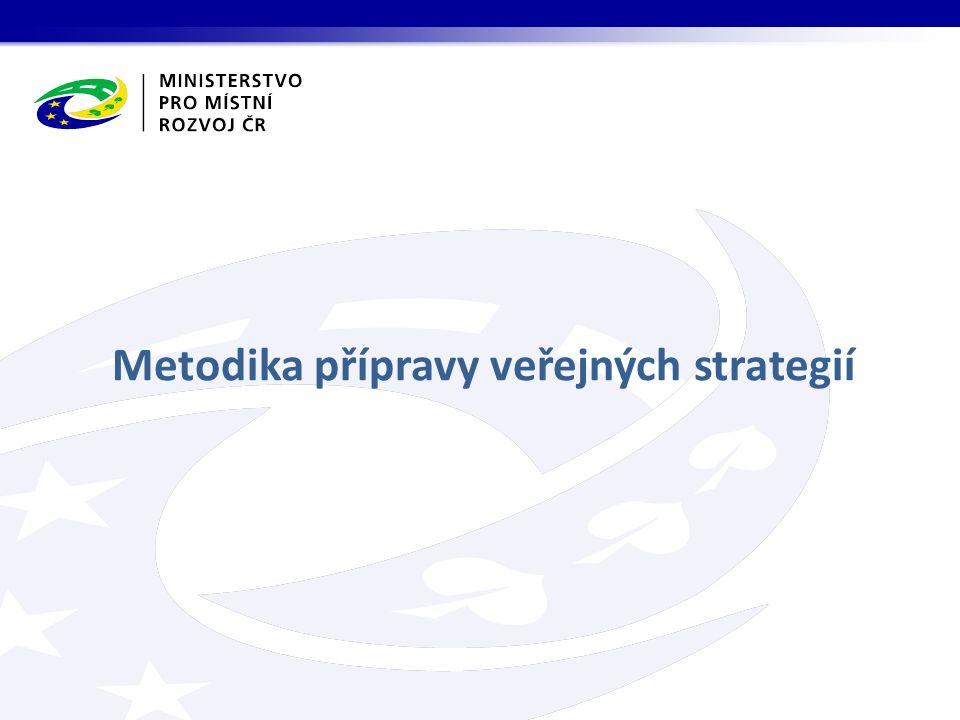 Metodika přípravy veřejných strategií