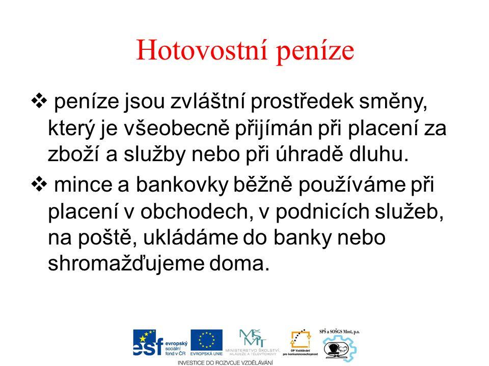 OCHRANA BANKOVEK PROTI PADĚLÁNÍ Bankovky jsou tištěny na speciálním bankovním papíře, který se odlišuje např.