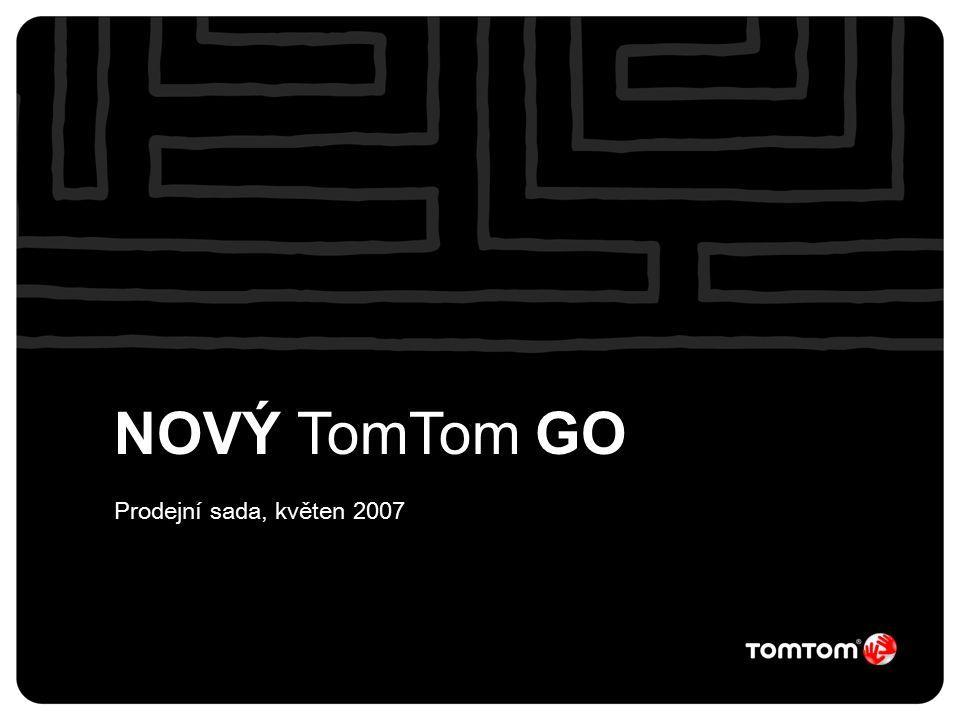NOVÝ TomTom GO Prodejní sada, květen 2007