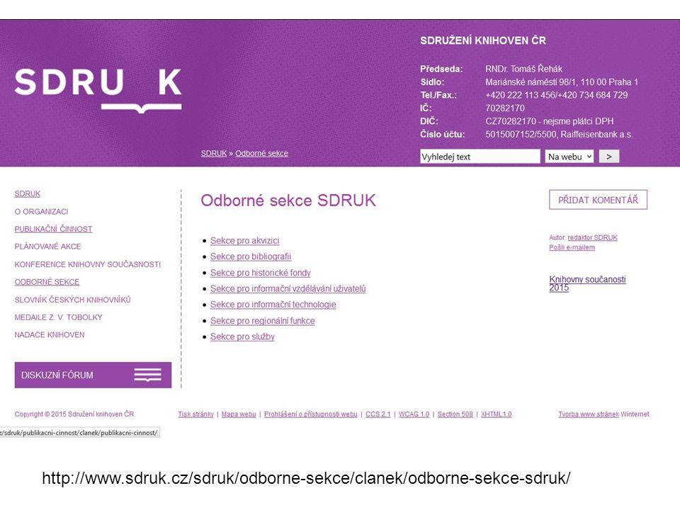 http://www.sdruk.cz/sdruk/odborne-sekce/clanek/odborne-sekce-sdruk/