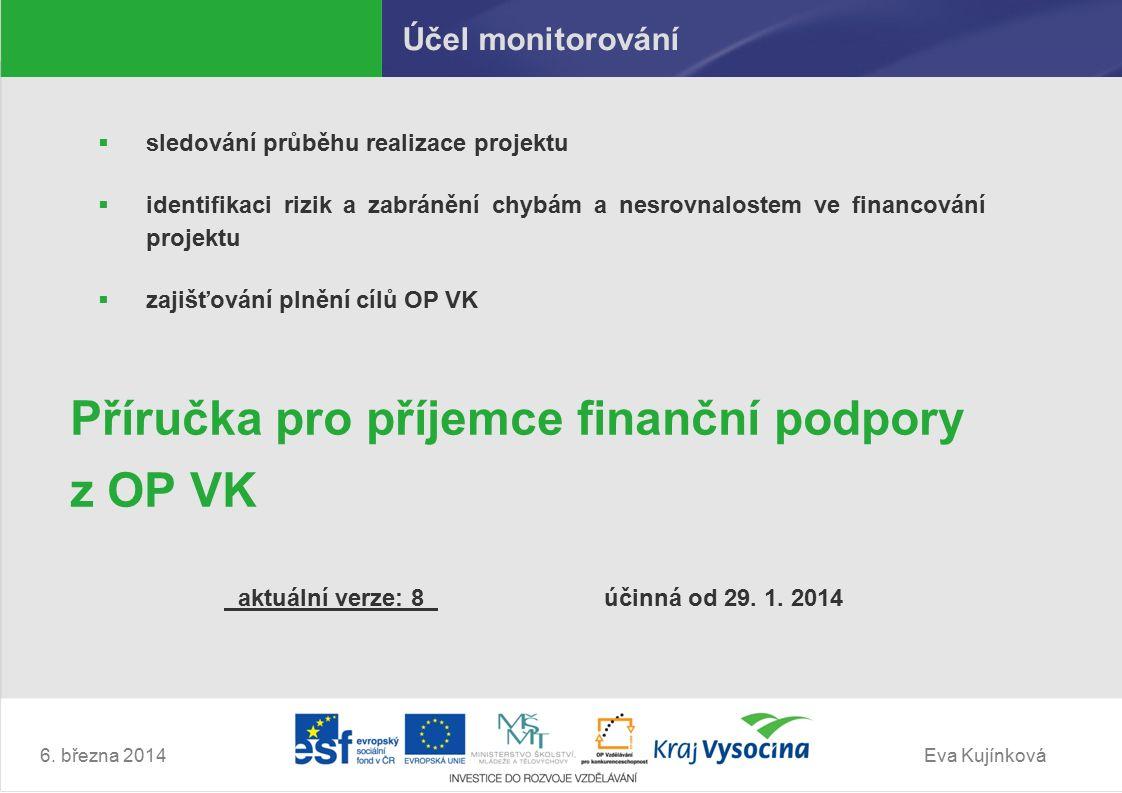 Eva Kujínková 4. Publicita 6. března 2014