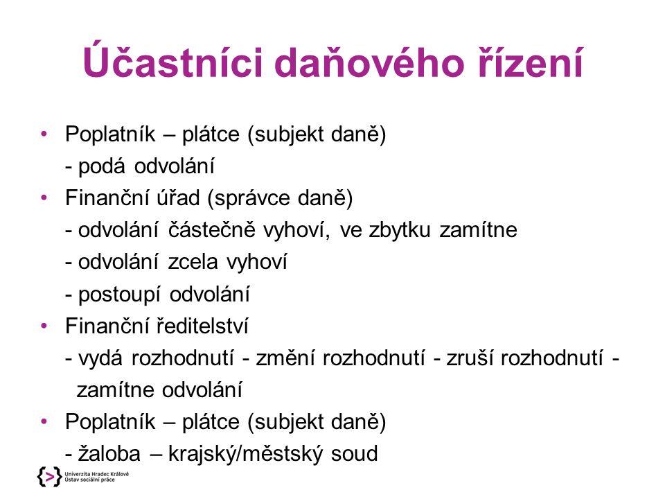Použitá literatura SOVOVÁ, O., FIALA, Z.Základy finančního a daňového práva.