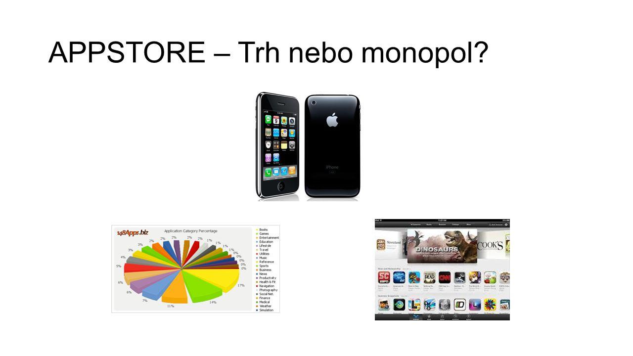 APPSTORE – Trh nebo monopol
