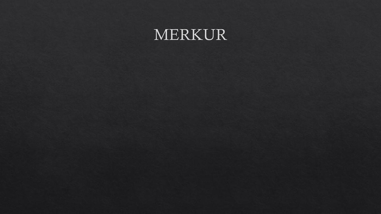 - Merkur je nejbli ž ší planeta ke Slunci - z jeho povrchu je vid ě t Slunce tém ěř t ř ikrát tak velké, ne ž p ř i pohledu ze Zem ě.