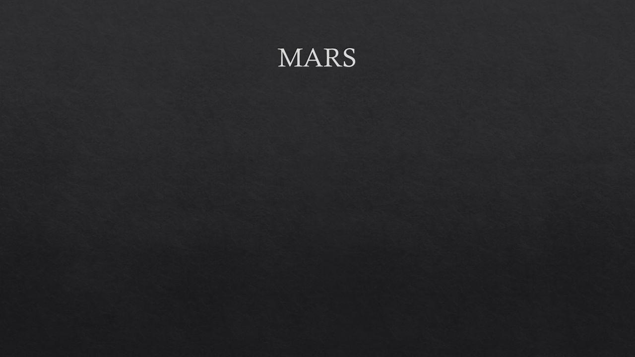 - Mars je planeta p ř ibli ž n ě polovi č ní velikosti Zem ě.