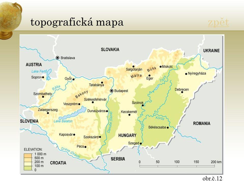 topografická mapa zpětzpět obr.č.12