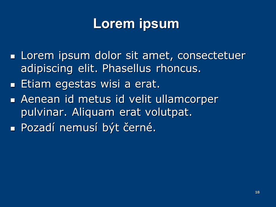 Lorem ipsum Lorem ipsum dolor sit amet, consectetuer adipiscing elit.