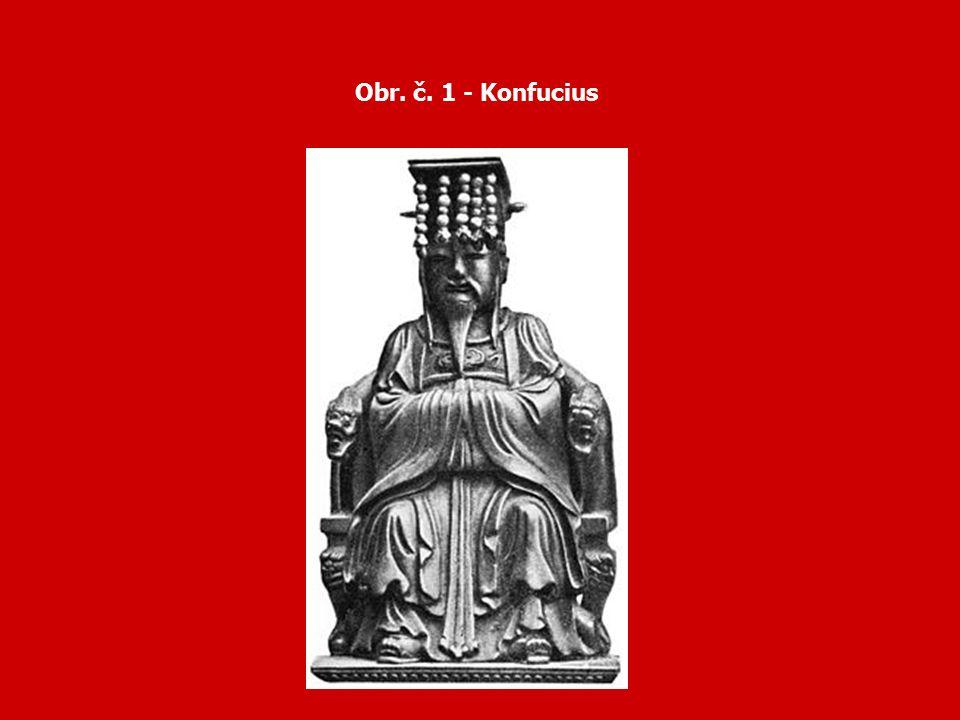 Obr. č. 1 - Konfucius
