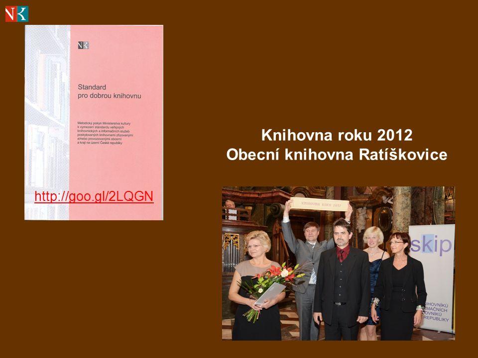 http://goo.gl/2LQGN Knihovna roku 2012 Obecní knihovna Ratíškovice
