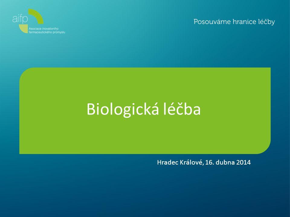 Biologická léčba Hradec Králové, 16. dubna 2014