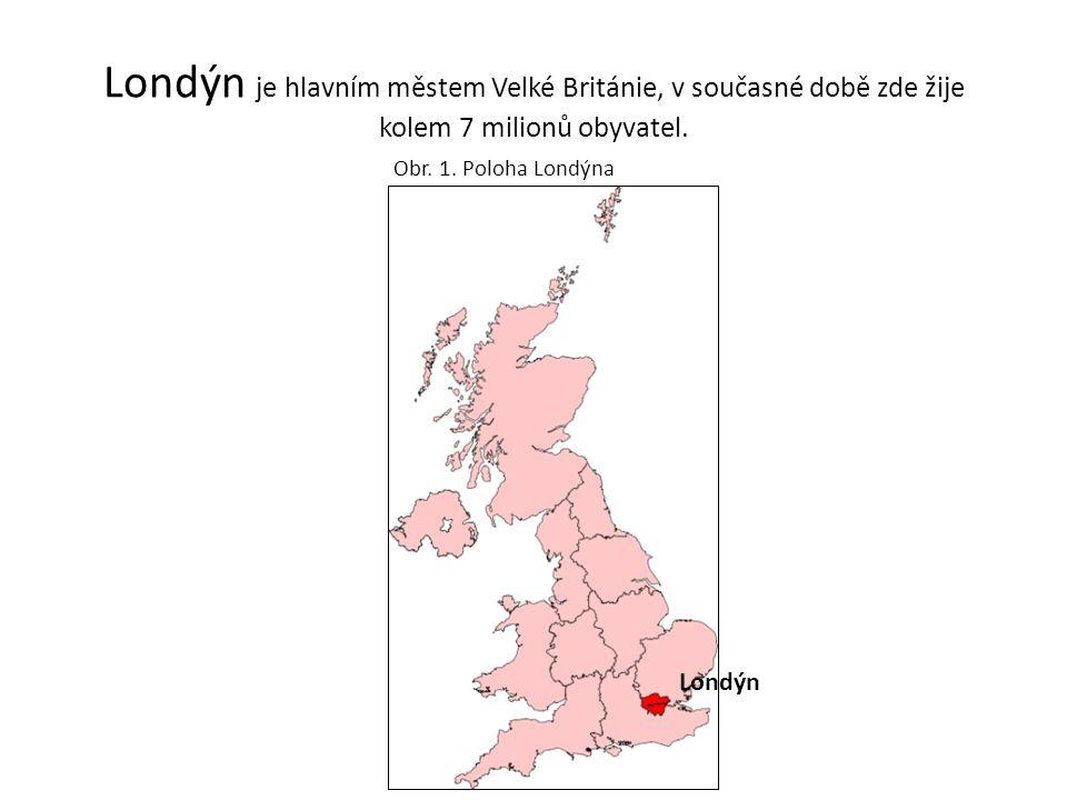 Londýn je hlavním městem Velké Británie, v současné době zde žije kolem 7 milionů obyvatel.