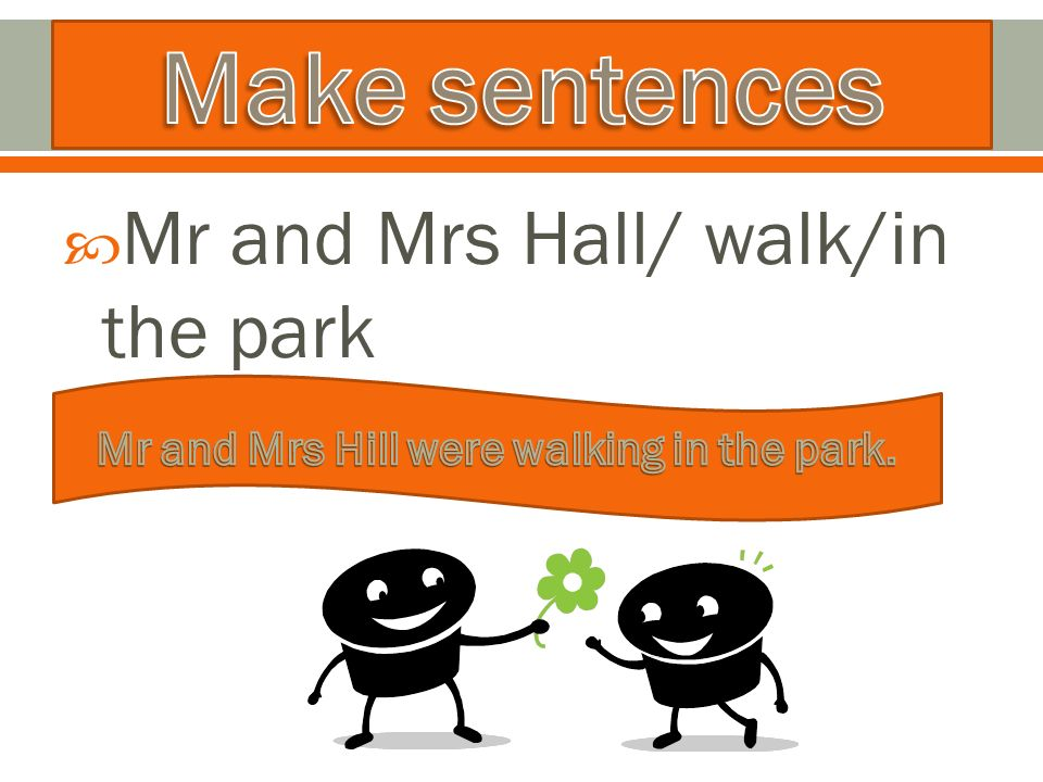  Mr and Mrs Hall/ walk/in the park