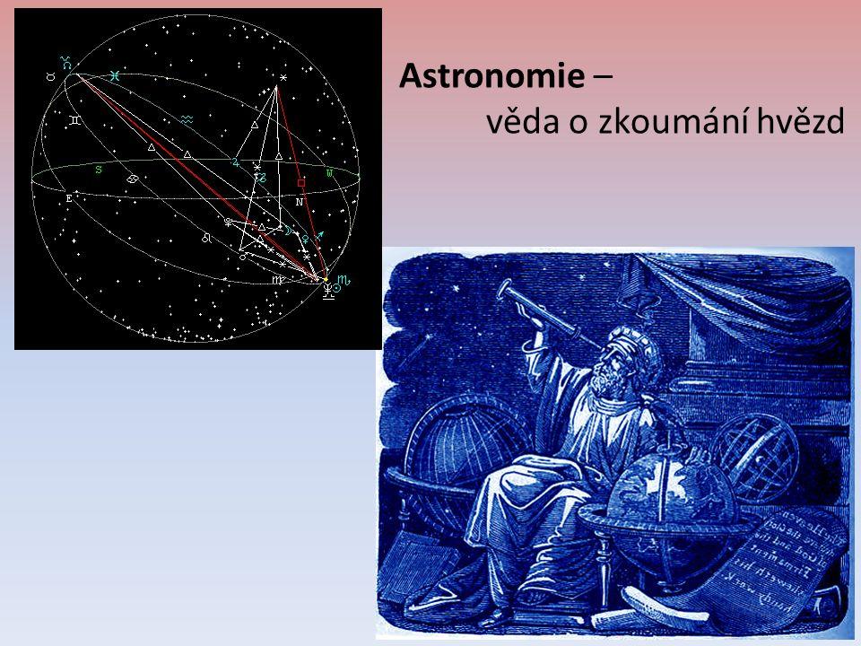 Astronomie – věda o zkoumání hvězd