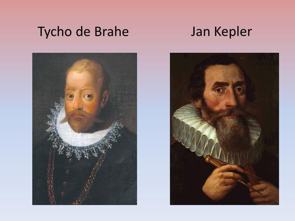 Tycho de Brahe Jan Kepler