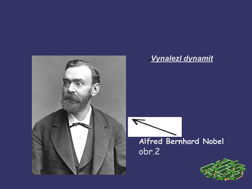Alfred Bernhard Nobel obr.2 ● Vynalezl dynamit