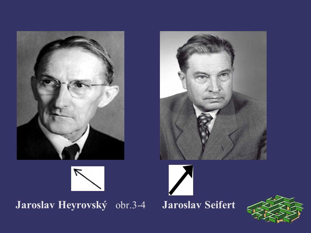 Jaroslav Heyrovský obr.3-4 Jaroslav Seifert