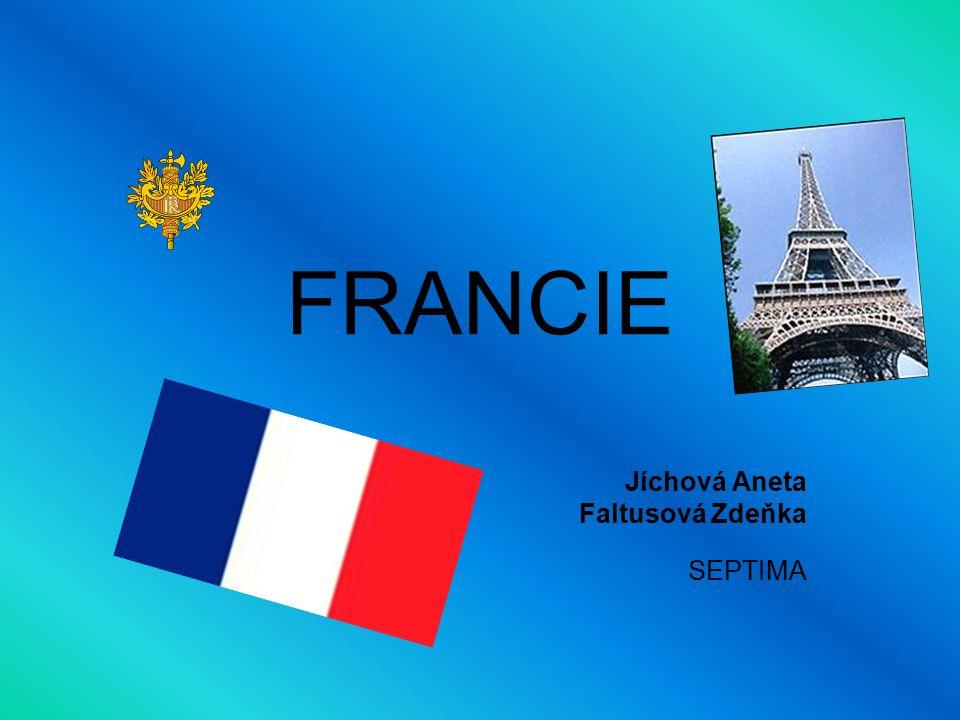 Francie Rozloha: 547 030 km² Počet obyvatel: 60 milionů Hustota zalidnění: 111 ob.