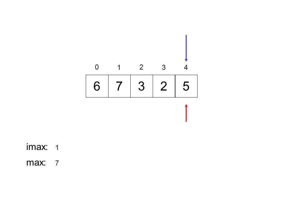 725 0 1 2 34 imax: 1 max: 7 63