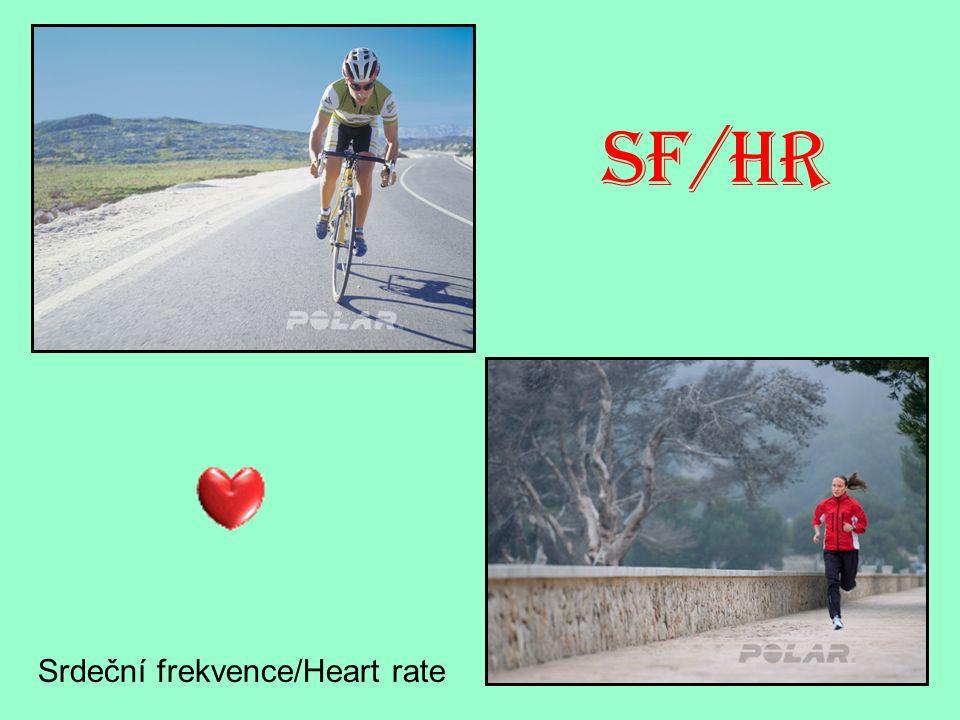 SF/HR Srdeční frekvence/Heart rate