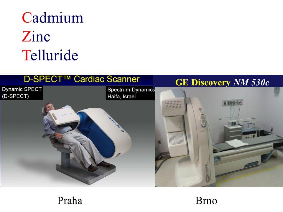 Cadmium Zinc Telluride GE Discovery NM 530c Praha Brno