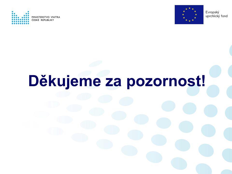 Děkujeme za pozornost! Evropský uprchlický fond
