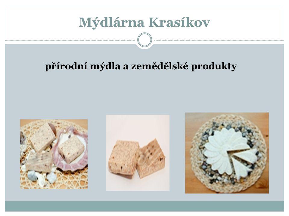 Mýdlárna Krasíkov přírodní mýdla a zemědělské produkty