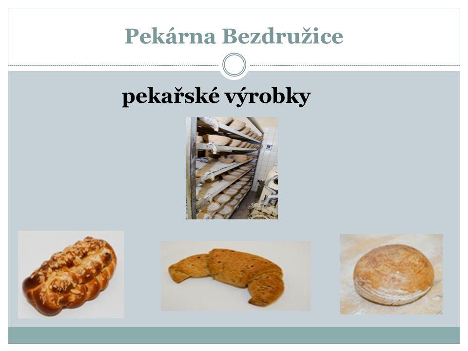 Pekárna Bezdružice pekařské výrobky