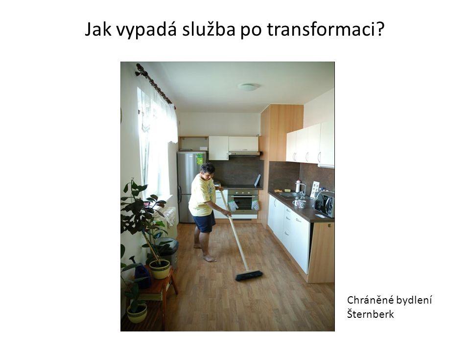 Jak vypadá služba po transformaci Chráněné bydlení Šternberk