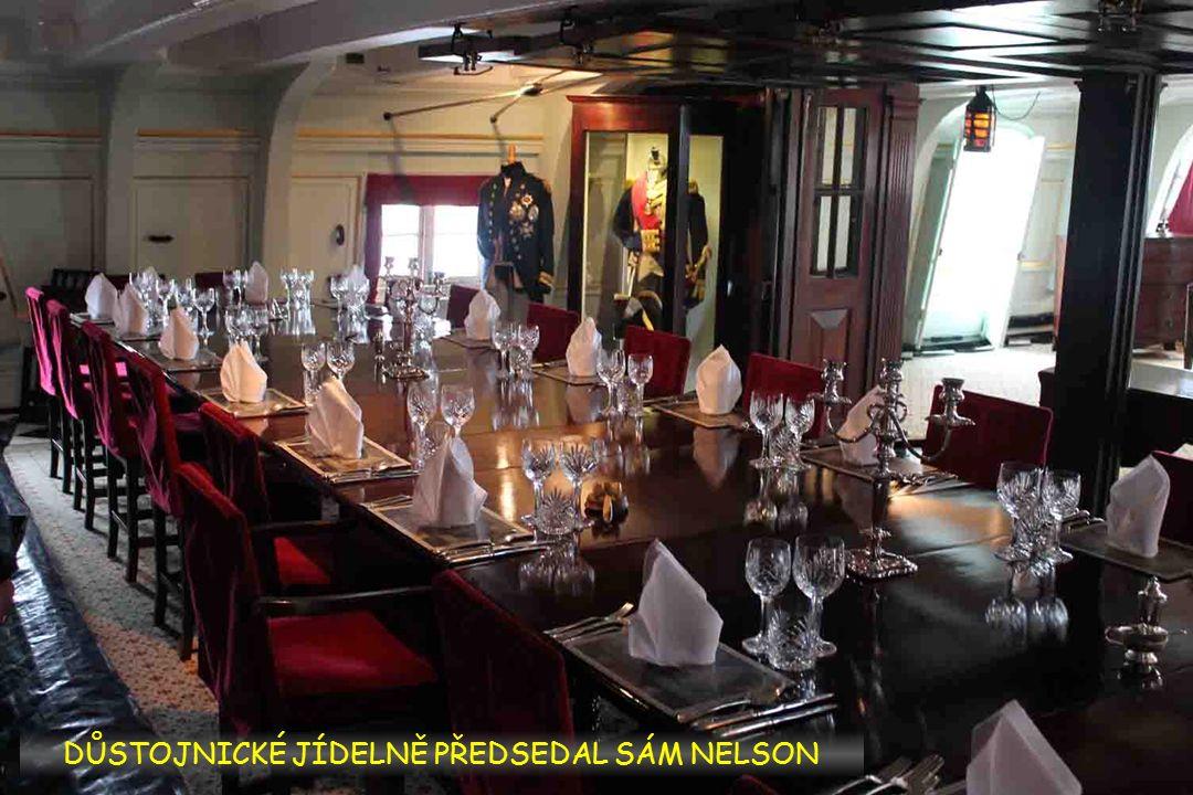 NA LODI HMS VICTORY ADMIRÁL NELSON ZVÍTĚZIL I PADL U TRAFALGARU