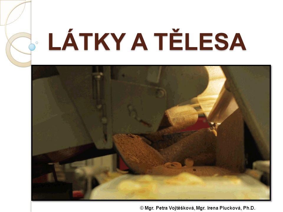 LÁTKY A TĚLESA © Mgr. Petra Vojtěšková, Mgr. Irena Plucková, Ph.D.