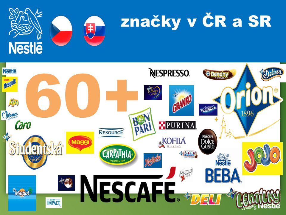 60+ značky v ČR a SR
