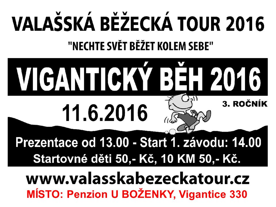 MISTROVSKÁ UTKÁNÍ – JARO 2016 mužipá 10.6.Vigantice - Slušovice18:00 ml.
